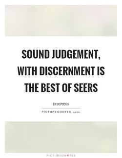 SOUND JUDGEMENT, 
