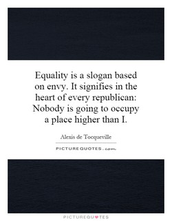 Equality is a slogan based 