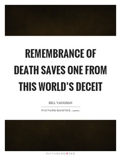 REMEMBRANCE OF 