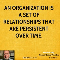 AN ORGANIZATION IS 