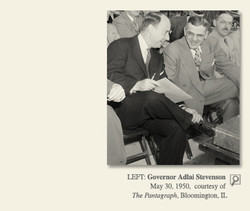 LEFT: Governor Adlai Stevenson 