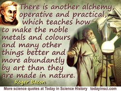 There is another alchemy, 