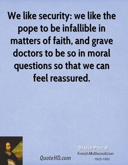 We like security: we like the 