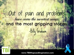 Out o? pain and problem)f 