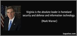 Virginia is the absolute leader in homeland 