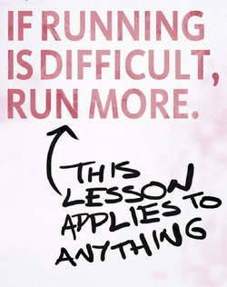 IF RUNNING 