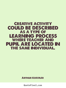 CREATIVE ACTIVITY 