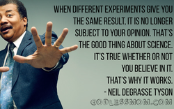 WHEN DIFFERENT EXPERIMENTS GIVE YOU 