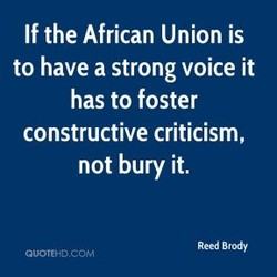 If the African Union is 