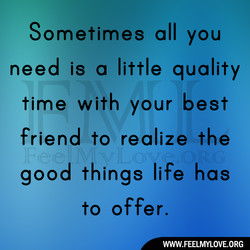 Sometimes all you 