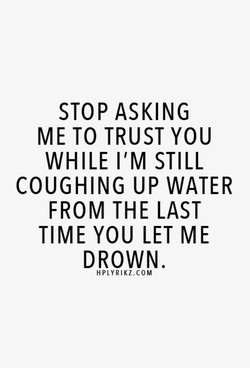 STOP ASKING 
