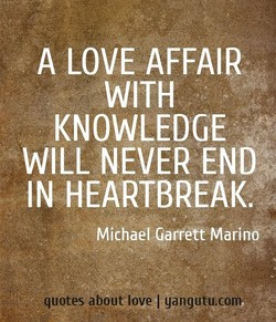 A LOVE AFFAIR 