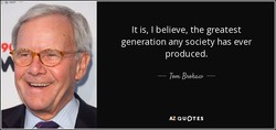 It is, I believe, the greatest 