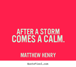 AFTER A STORM 