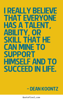 I REALLY BELIEVE 