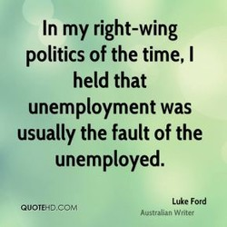 In my right-wing 