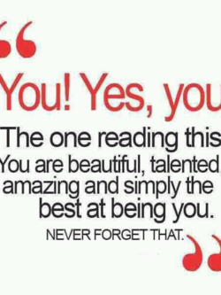 You! Yes, you 