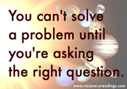 YOU can't solve 