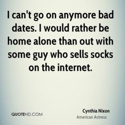 I can't go on anymore bad 