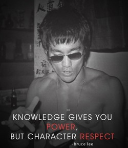 KNOWLEDGE GIVES YOU 