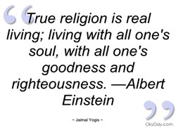 True religion is real 