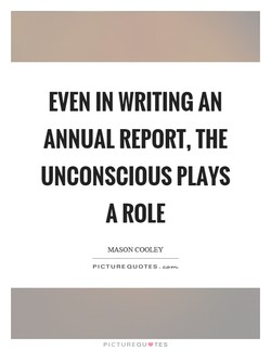 EVEN IN WRITING AN 