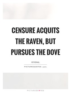 CENSURE ACQUITS 