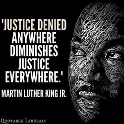 'JUSTICE DENIED 