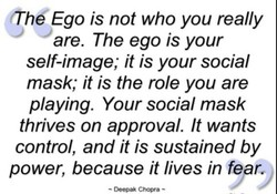 tTh&Ego is not who you really 