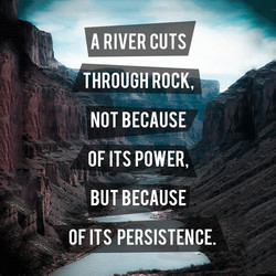 A RIVER CUTS 