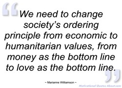 We need to change 