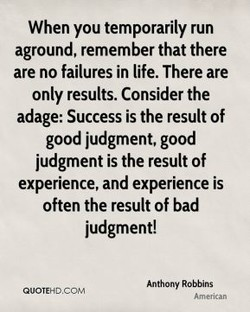 When you temporarily run 