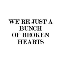 WE'RE JUST A 