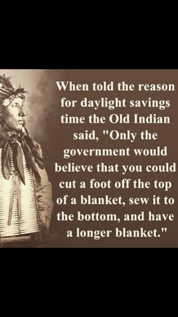 When told the reason 