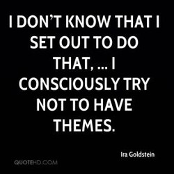 I DON'T KNOW THAT I 
