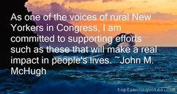 As one of thexoices of rurai New 