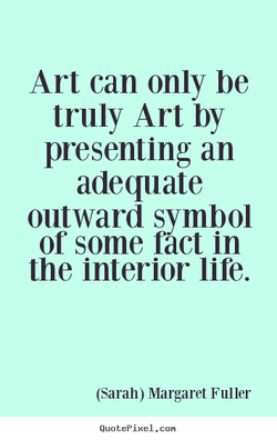 Art can only be 