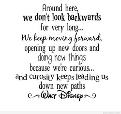 Around here, 