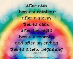 after rain 