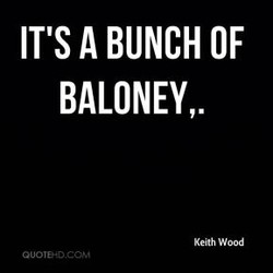 IT'S A BUNCH OF 