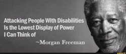 Attacking People With Disabilities 
