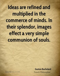 Ideas are refined and 