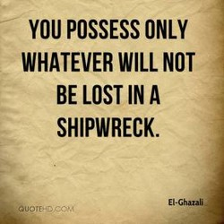 YOU POSSESS ONLY 