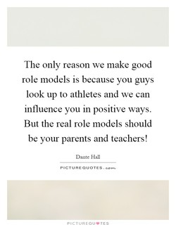 The only reason we make good 