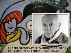 THE PURPOSE OF ART IS DASHING THE DUST op 