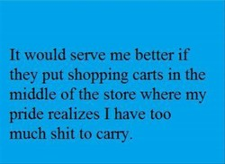 It would serve me better if 