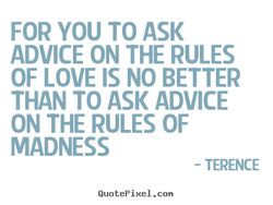 FOR YOU TO ASK 