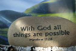 With God all 