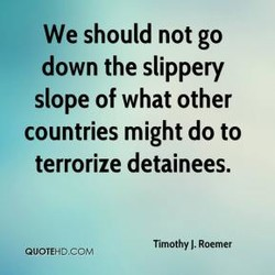 We should not go 
