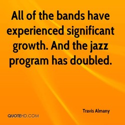 All of the bands have 